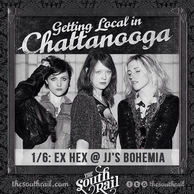 TONIGHT at JJsBohemia exhexband birdsofavalon and MadLibre httpwwwthesouthrailcom?p4931 CHAmusic CHAhellip